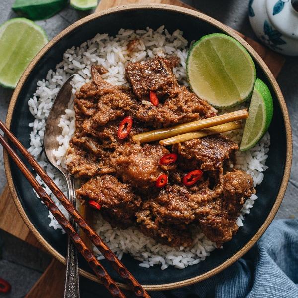 Resep Spicy Beef Rendang Maknyus dan Mudah